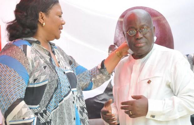 Rebecca Akufo Addo and Nana Akufo Addo