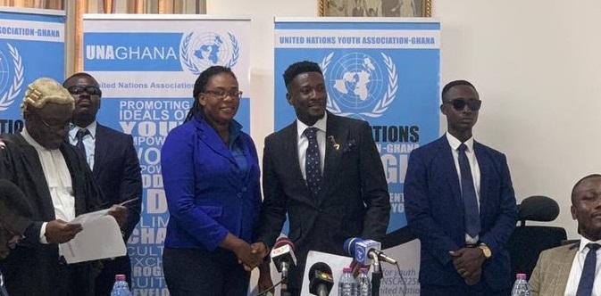 Asamoah Gyan UN Goodwill Ambassador