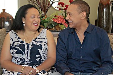 Evelyn Murray-Bruce and Ben Murray-Bruce