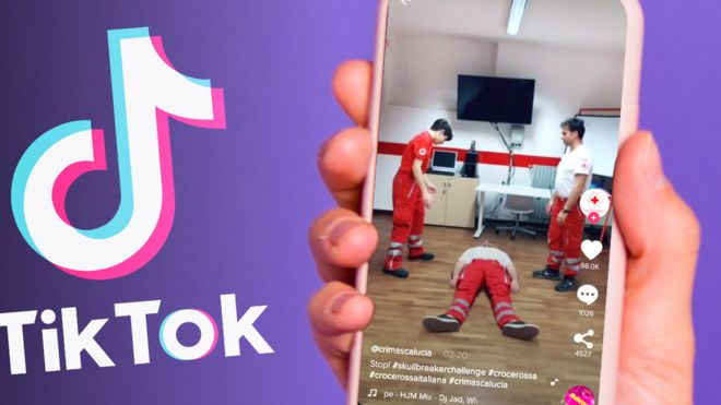 TikToks Naked-Challenge is trending among youngsters