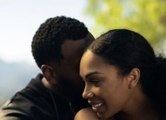 cute black couple image via pinterest.com