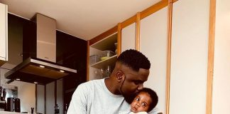 Sarkodie and his son