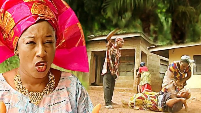Patience Ozorkwor as a wicked mother