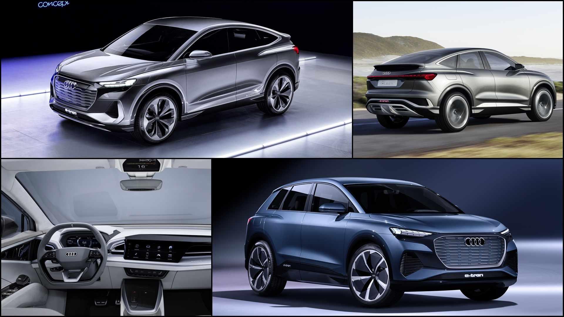 Audi's New Q4 Sportback E-tron Concept Has 'Sexy Back ...