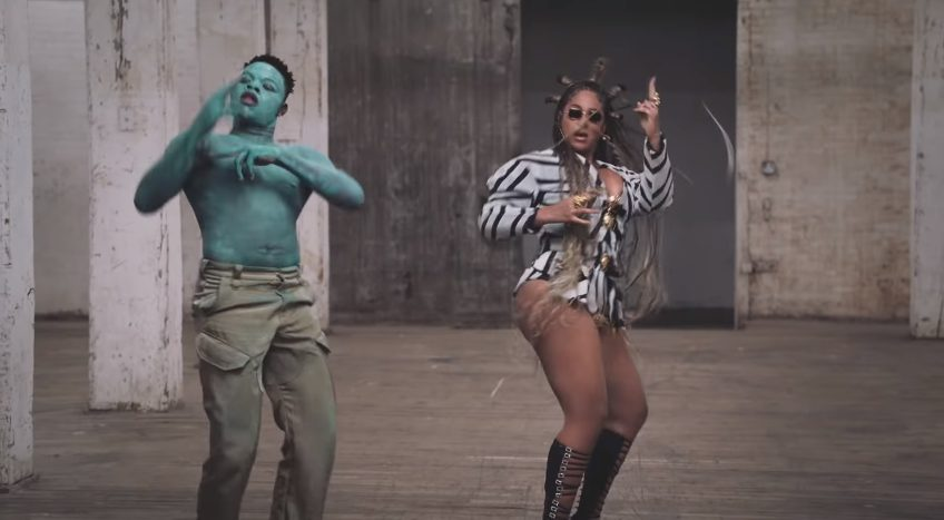 music video for Already from Beyonce and Shatta Wale