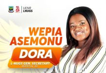Dora Asemonu Local NUGS General Secretary Aspirant