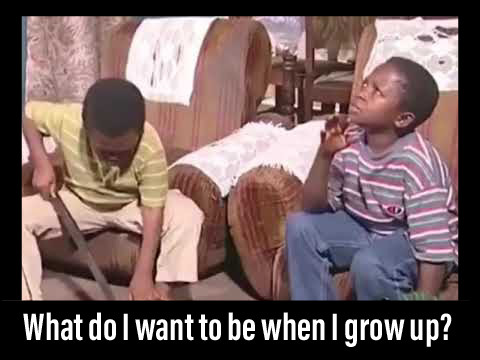 common careers, child, aki and popo. What do i want to be when i grow up?