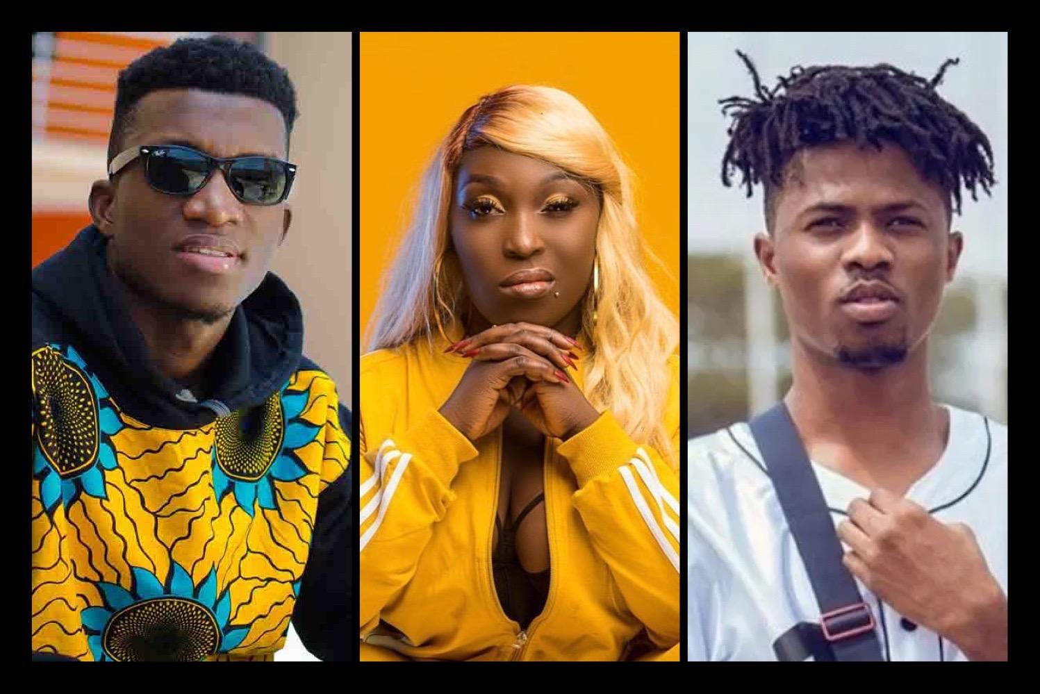 Ghanaian artistes on YouTube