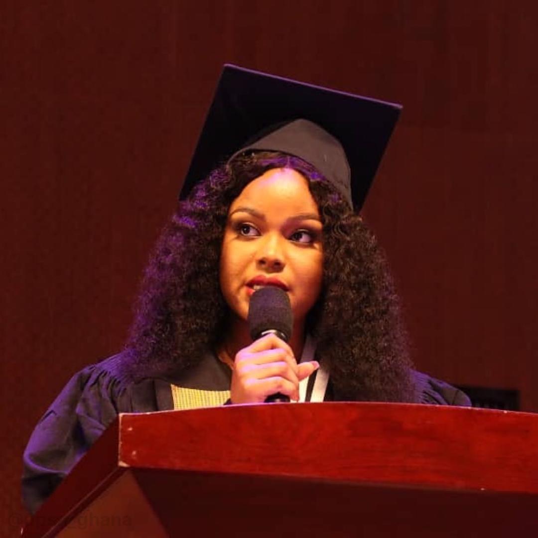 Miss Zillah Boye-Doe UPSA Valedictorian